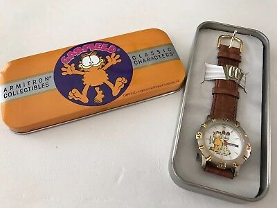 Garfield Armitron Never Worn Watch in Original Tin