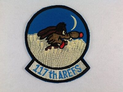 U.s.a.f...117Th Air Refueling Squadron...new, 80's, Authentic,