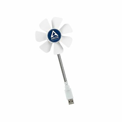 ARCTIC Breeze Mobile - Mini USB Desktop Fan with Flexible Neck I Portable Des...