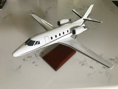 Pacific Miniatures PACMIN Citation Jet Model Airplane w/ Stand