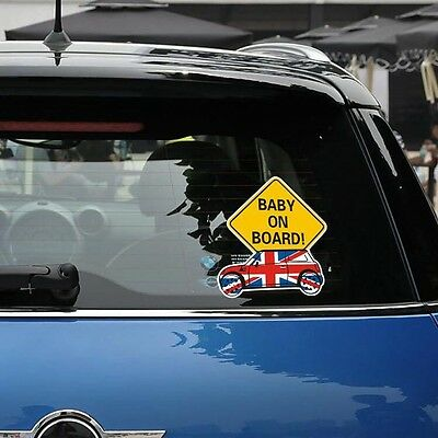 Baby On Board Car sticker Bumper Van Window Laptop JDW VINYL Decals  Stickers