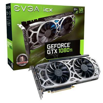 EVGA GeForce GTX 1080 Ti iCX GAMING, 11G-P4-6591-KR, 11GB GDDR5X