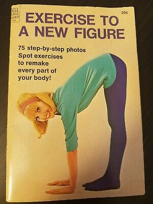 Exercise to A New Figure Vintage Weight Loss  Dell Purse Book 1964