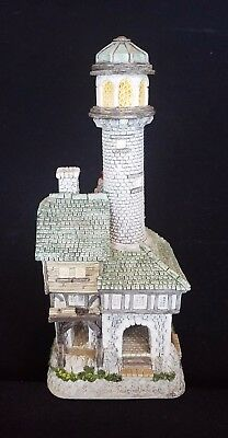 David Winter ~ THE TRINITY LIGHTHOUSE ~ MIB ~ COA ~ ISSUED 1995 ~ PERFECT