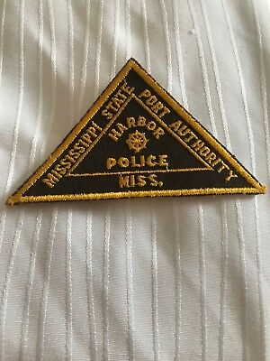 Old Mississippi MS State Port Authority Harbor Police patch
