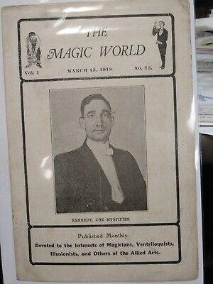 Kennedy The Mystifier Issue 1918 THE MAGIC WORLD PERIODICAL
