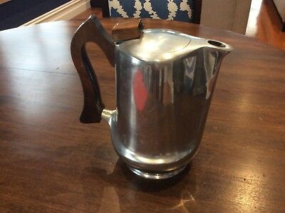 A Vintage Picquot Ware Coffee Pot Made in England