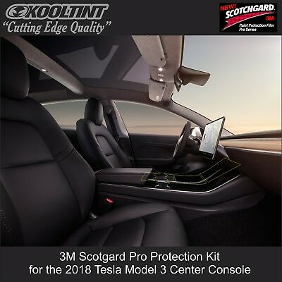 Tesla Model 3 Center Console Protection Kit by 3M