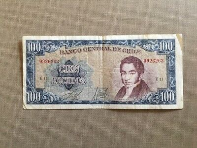 world paper money Chile