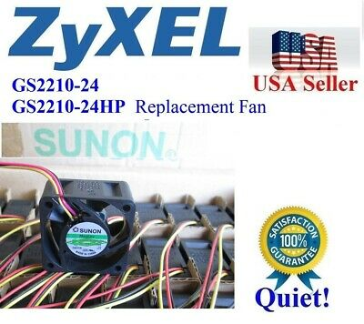 Lot 3x New original Fans for ZyXEL GS1900-24HP 24-Port Smart Managed Switch