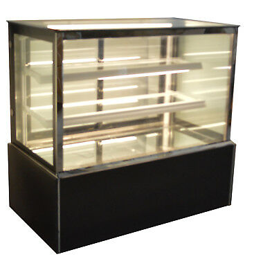 220V Bakery Showcase Commercial Refrigerated Cake Pie Display Cabinet 48Inch New