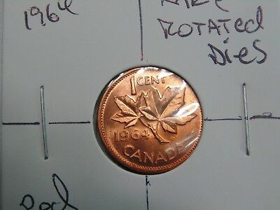 Rare Error 1964 Rotated Dies Perfect Ms Coin Have A Look.
