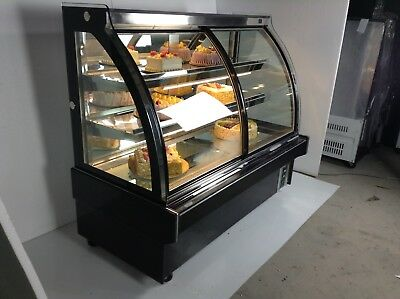 "Commercial Refrigerator 220V 48"" Refrigerated Bakery Showcase Display Cabinet US"