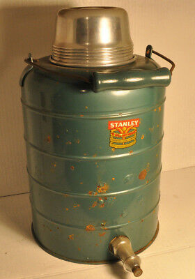 Collector Vintage Stanley Insulated Container Stainless Steel Water Jug Thermos