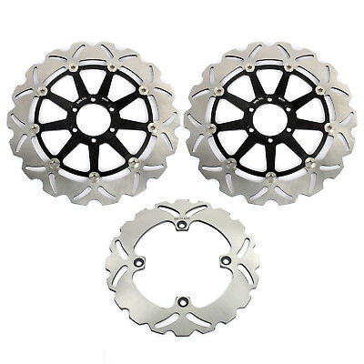 Front Rear Brake Discs Rotors for DUCATI BIPOSTO 748 95-02 998 916 996 SPS R S
