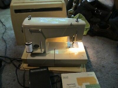 SEARS KENMORE SEWING Machine 40s Model 40 In Cabinet 4040 Simple How To Thread A Sears Kenmore Sewing Machine Model 2142