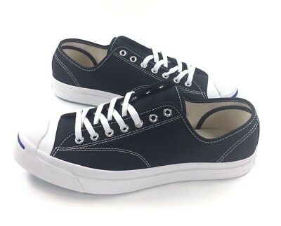 a043e268c53d NEW Converse Jack Purcell JP Signature Ox Mens Sz 10.5 Black White Shoes  156953C