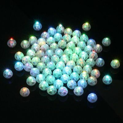 Muti-Colorful Mini LED Light Bulb For Paper Lantern Balloon Wedding Party Decor