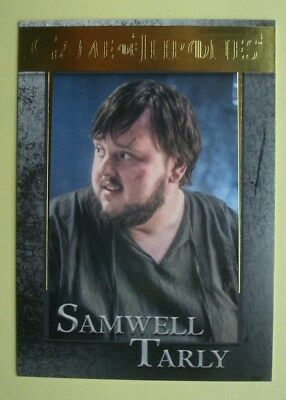 2016 *GAME Of THRONES* Season 5 GOLD PARALLEL Card  # 35 Samwell TARLY *004/150*