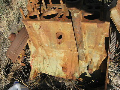 WoW! L@@K! Rare! WWII 1940s US Army Jeep Willys 4 Cyl Engine Block G+ to VG