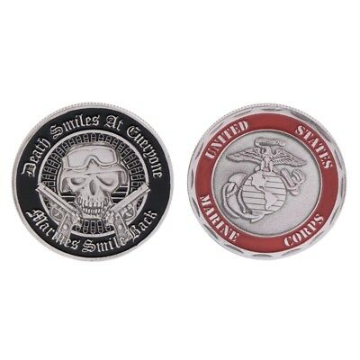 Commemorative Coin American Marine Corp Army Collection Art Gifts Alloy Souvenir