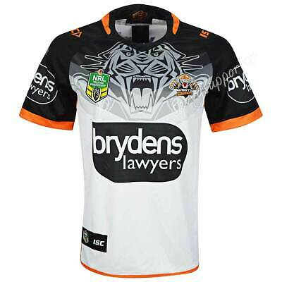 Wests Tigers 2018 NRL Mens Away Jersey Sizes S-7XL BNWT