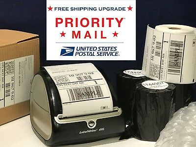 DYMO 4XL Shipping Labels Thermal 1744907 compatible 4x6 220 labels per roll