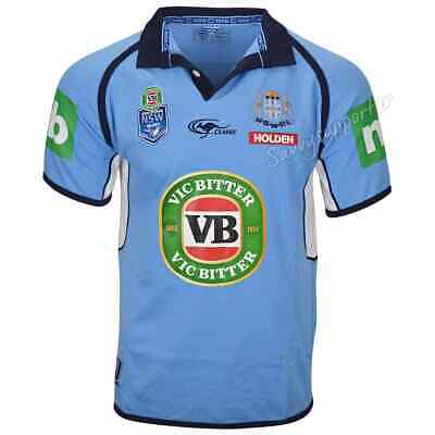 NSW Blues State of Origin NRL Classic Jersey 'Select Size' S-5XL BNWT
