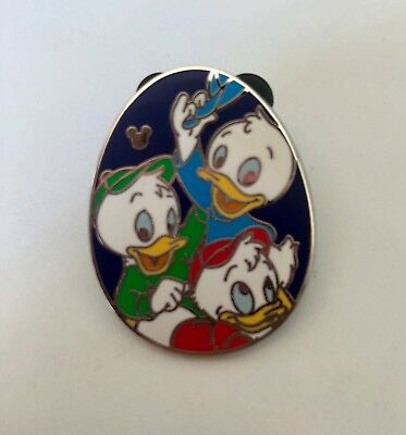 DLR 2015 Hidden Mickey Ducks Egg Nephews Huey Dewie Louie COMPLETER Disney Pin
