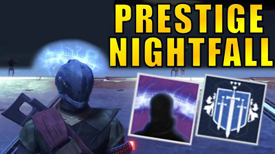 DESTINY 2 NIGHTFALL Prestige/NORMAL completion PS4 ONLY - $10 99