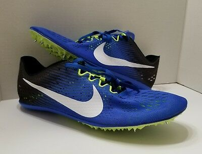 watch c31ee 04b3f NEW Nike Zoom Victory Elite 2 Mens Track Shoes Blue Black Size 13 (835998-