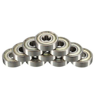 20x 608zz Deep Groove Ball Bearing Carbon Steel Skateboard Roller Blade 7x22x8mm