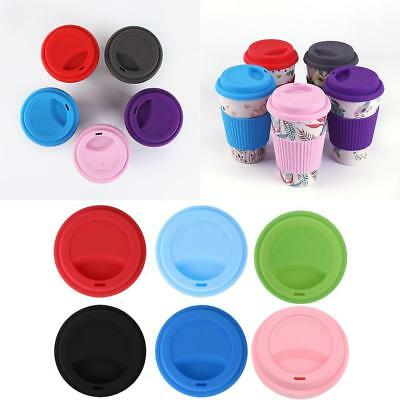 Leakproof Insulated Thermal Travel Coffee Mug Cup Flask Removeable Lid