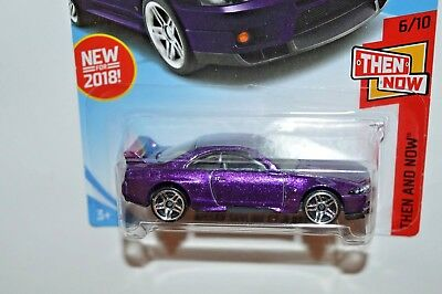 NEW Hot Wheels Nissan Skyline Rare Error Casting HTF GTR R33 R34 R32 Purple 2018