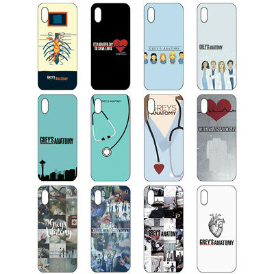 New TV Greys Anatomy Doctor Nurse Hard Case Phone Case for IPhone/Samsung