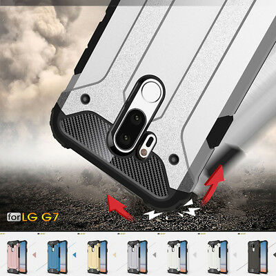 Luxury Hybrid Armor Rugged Shockproof Case Cover For LG V40 G7 ThinQ G5 G6 G7