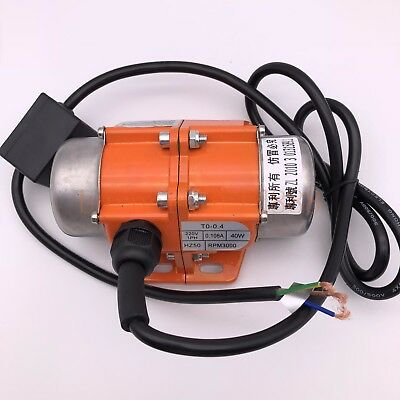 Vibration Motor 30-100W Adjustable Speed Asynchronous Vibrator Motor 220V 380V