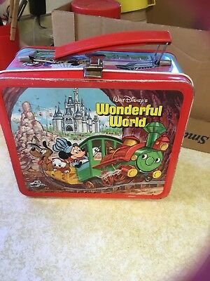 Walt Disney Wonderful World - World On Ice Lunchbox And Thermos