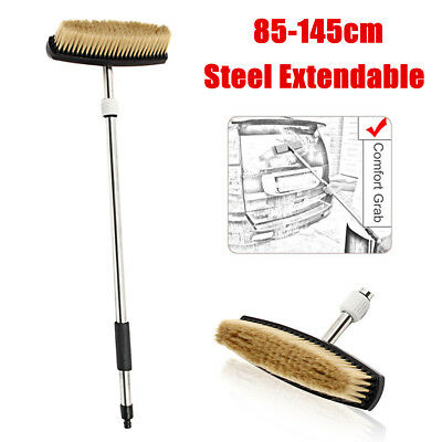 85-145cm Extendable Pole Car Cleaning Brush Truck Vehicle Washing Clean Tool