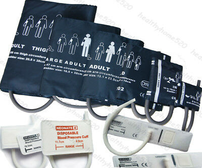 Neonatal/Infant/Child /Adult /Veterinary Blood Pressure Cuff for patient monitor