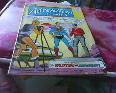Adventure Comics 255 + Free Foil Balloon Aquaman Superboy Green Arrow Dc Comic
