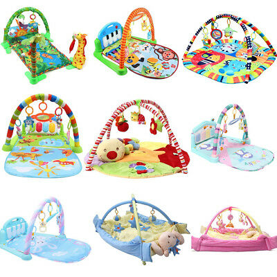 9 Type Baby Kid Playmat Play Musical Pedal Piano Activity Soft Fitness Gym Mat