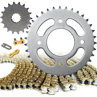 Keeway RKV 125 Gold Heavy Duty Motorcycle Chain and Sprocket Kit / Set RKV125