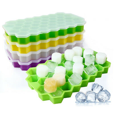 37 Grids Frozen Cubes Silicone Mini Small DIY Ice Cube Tray Ice Maker Mold