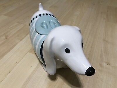 NEW Dachshund Weiner Sausage Dog Cookie Jar  cute  Weiner dog. Doxie cookie jar