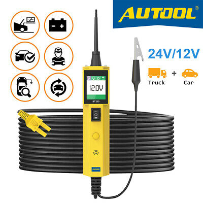 AUTOOL BT260 Car Battery Circuit Tester Electrical System Diagnostic Tool US