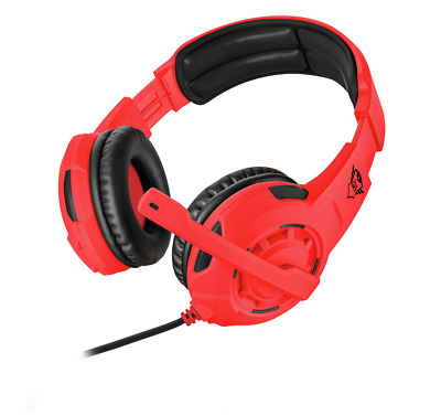 Trust GXT 310-SR Spectra Gaming Headset 3,5mm PS4 XBOX One Switch PC Notebook