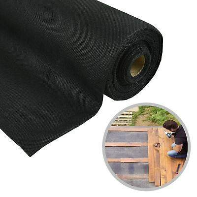 8M X 1.5M Weed Control Fabric Ground Cover Sheet Garden Landscape Membrane