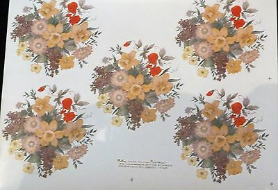 Ceramic Decals By Matthey Plc  Daffodils  645543 (200521)14 Cm  Right Price