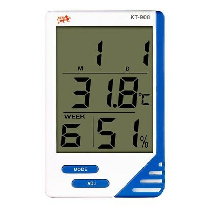 LCD Digital Indoor Outdoor In/Out Thermometer + Hygrometer Humidity Meter ( W2O8